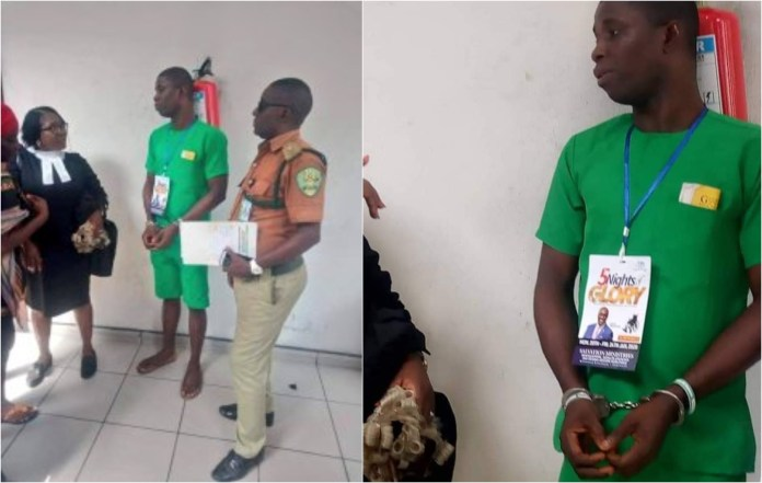 Suspected Port Harcourt serial killer, David West appears in court with Salvation Ministries