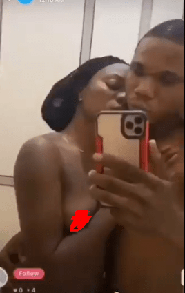 Nigerian couple go nude on social media in live video (+18)