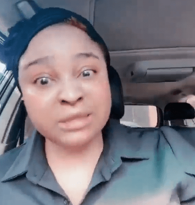 Update: Bimbo Afolayan lays curses on IG trolls asking her to get a better apartment for her mother