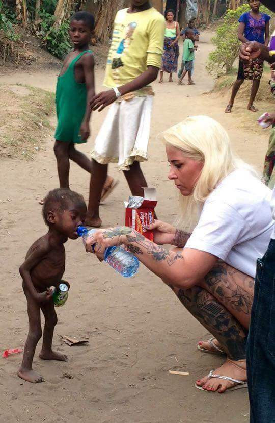 Danish aid worker, Anja Ringgren Lov?n marks 4 years since the rescue of child branded a witch in Akwa Ibom