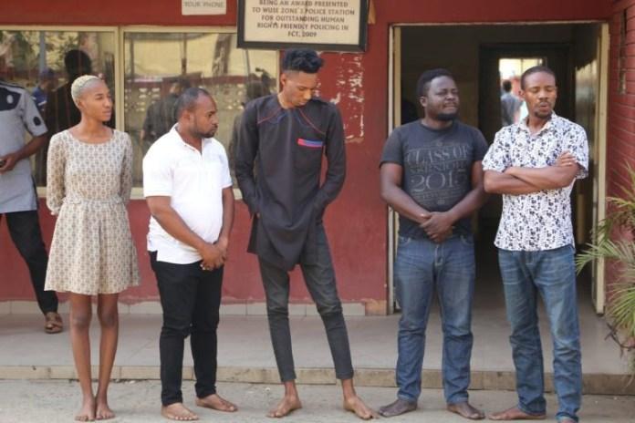 5 Abuja residents arrested over false claim of having coronavirus (photo)