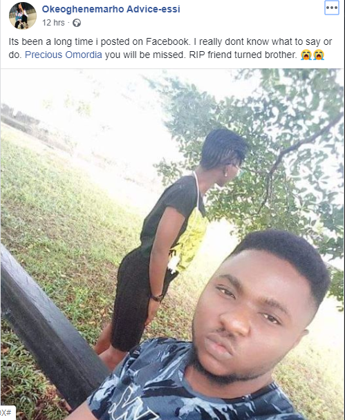 DELSU final year student drown in river, friends flee after incident