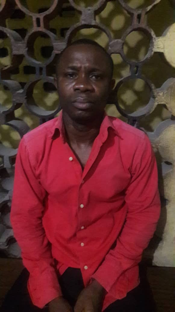 Man arrested for allegedly attempting to kill his wife in Lagos  (photo)