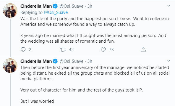 Manipulation always ends in domestic violence - Osi Suave says as he recounts how his friend was continuously assaulted by his wife