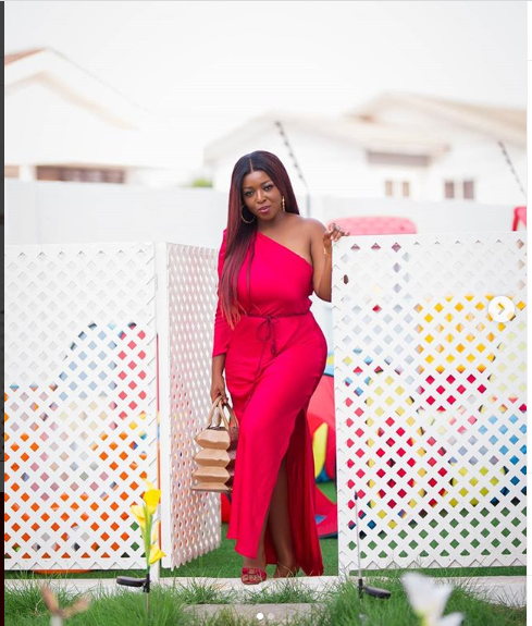See how Ini Edo, Mercy Eke, Moet Abebe others lightened up Instagram with racy red lingerie on Valentine