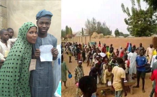 Two boys contest in an election over a girl they both fell in love with in Bauchi (images)