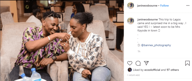 Rapper Pepenazi proposes to his girlfriend, Janine