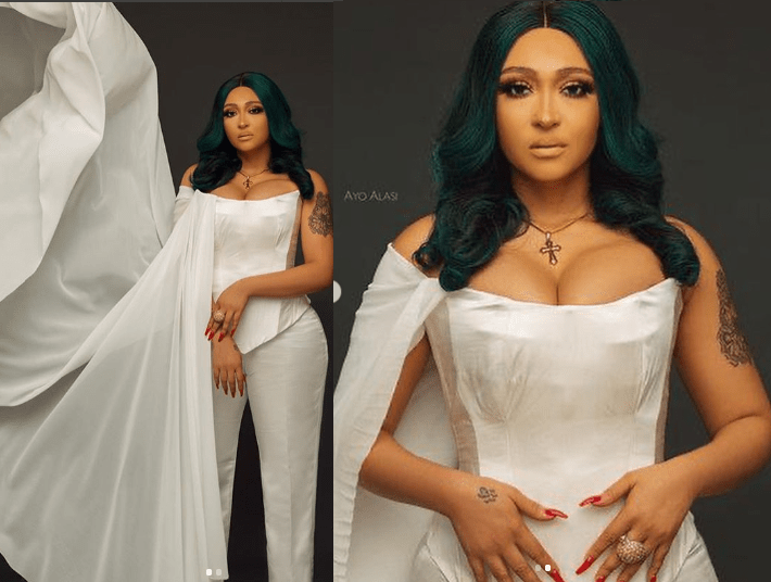 'You are an extension of me, that's why I'll always love you' - Olakunle Churchill declares his undying love for Rosy Meurer on her birthday