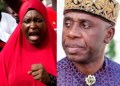 ''You should be ashamed of your self'' Aisha Yesufu attacks Rotimi Amaechi after he denied reports he fled when kidnappers attacked a train in Kaduna