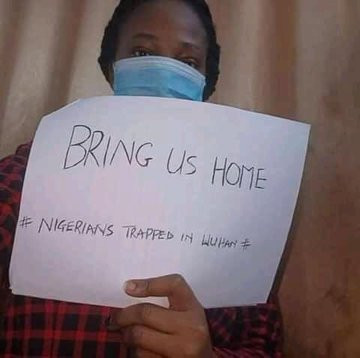 Coronavirus: Nigerians trapped in Wuhan beg to be brought back home (video)