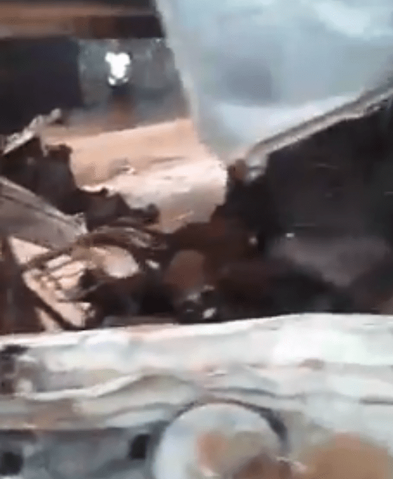 Father of two and his four colleagues burnt to death in horrific road crash in Edo (photos)