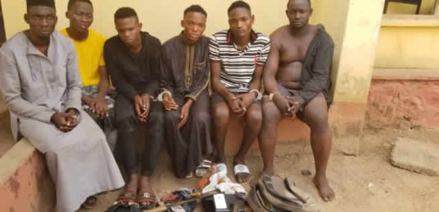 Herbalist and five others arrested for armed robbery in Ogun