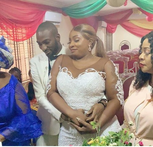 Newlywed, Anita Joseph says powerful prayer for her husband and he responds