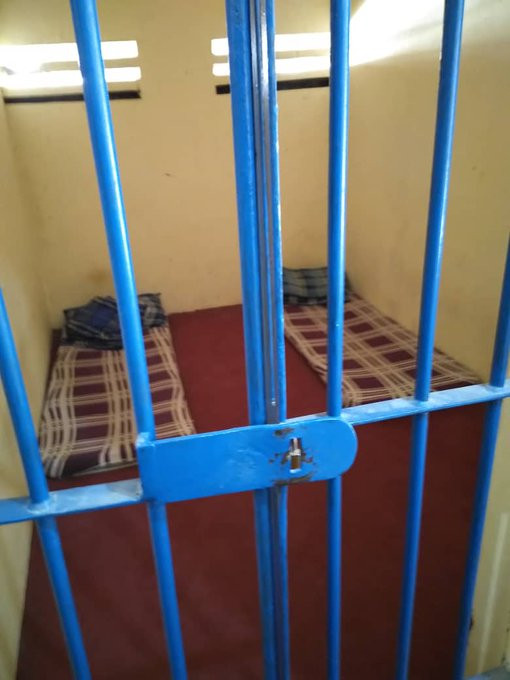 Checkout this police cell in Kano (photos)