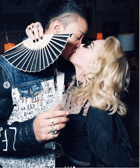 Madonna, 61, passionately kisses her toyboy beau Ahlamalik Williams, 25, in new loved-up photos