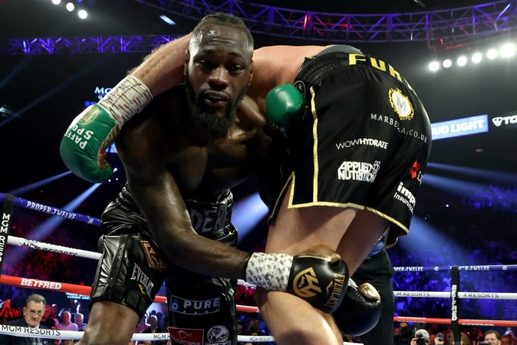 Deontay Wilder handed six-week suspension after Tyson Fury defeat
