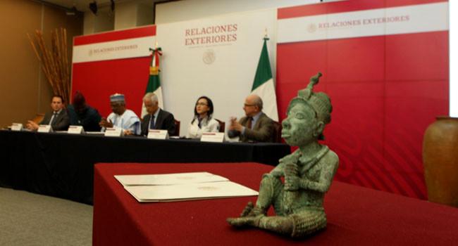 Mexico returns ancient Nigerian sculpture (photos)