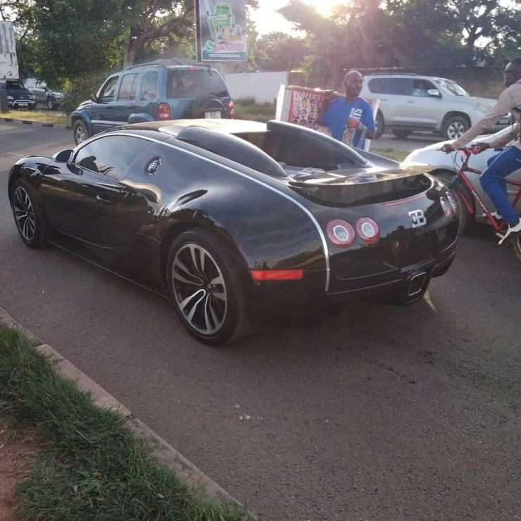 $2.8m Bugatti Veyron seized in Zambia, owner