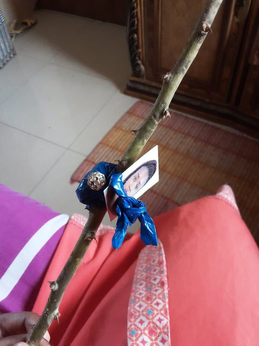 Lady cries out for help after stumbling upon her photo her best friend placed in a voodoo bottle