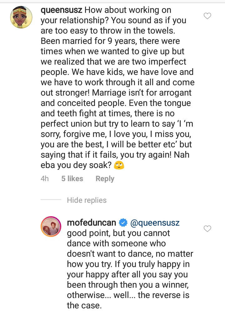 """""""You cannot dance with someone who doesn"""
