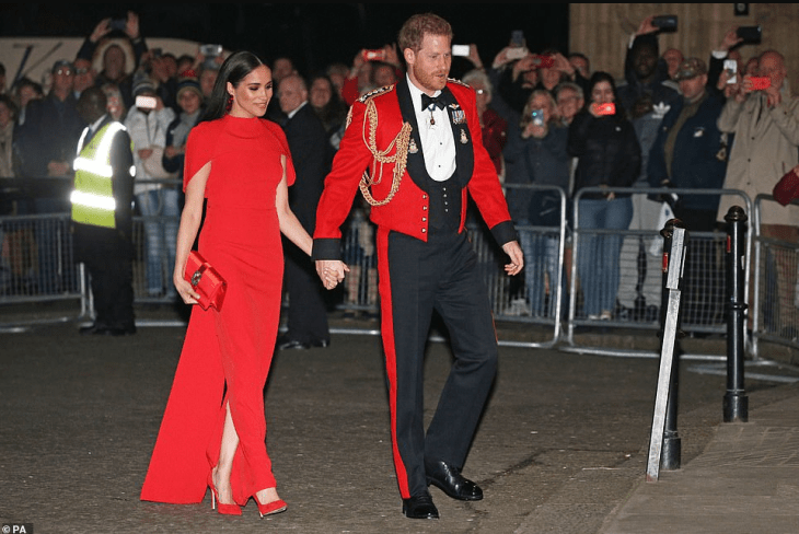 Prince Harry and Meghan Markle arrive Mountbatten festival (photos)