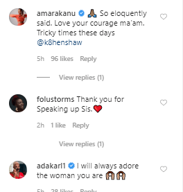 """""""You lack self respect"""" Kate Henshaw hits back at Emeka Rollas after he went on TV defend the appointment of Elisha Abbo as the patron of AGN"""