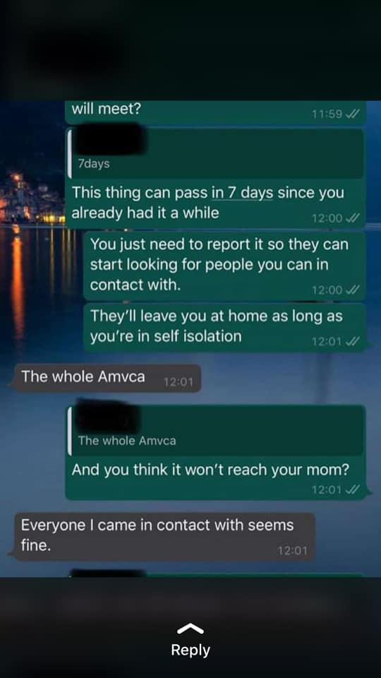 Nigerian man who showed symptoms of coronavirus after attending AMVCA opens up