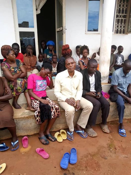 Coronavirus: Ugandan pastor and his followers arrested for defying presidential directive on religious gatherings (photos)