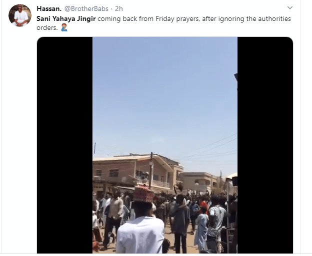 Coronavirus: Nigerians call for arrest of Imam Sani Yahaya Jingir after he led Friday prayer in a Mosque in Jos despite ban on religious gathering (video)