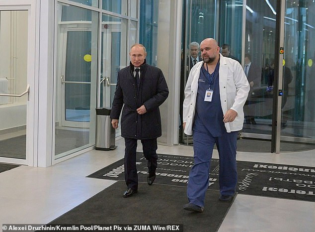 Major scare for President Putin as Russian physician he shook hands with a week ago tests positive for Coronavirus (Photos)