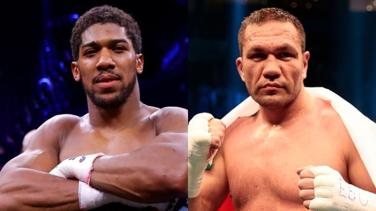 Coronavirus: Anthony Joshua postpones his June world title defence against Kubrat Pulev?