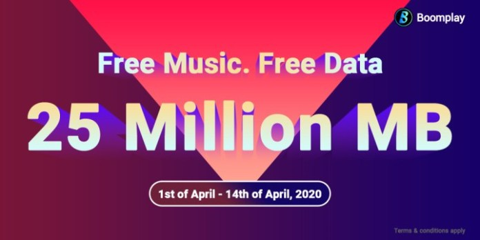 Boomplay Offers its Users 25 Million MB Free Data For Entertainment During COVID-19 Lockdown