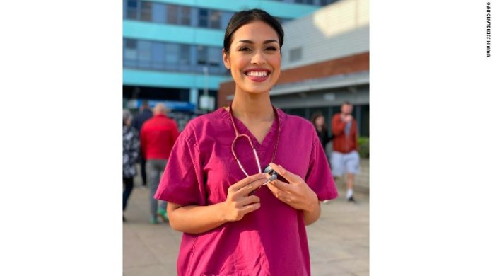 Miss England, Bhasha Mukherjee hangs up her crown to return to work as a doctor during Coronavirus pandemic