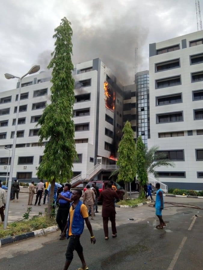 The Federal Fire Service (ffs) Says It Has Successfully Extinguished The Fire That Broke Out On Wednesday At The Office Of The Accountant General Of The Federation (agf) In The Federal Capital Territ