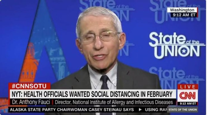 Covid-19: Trump suggests firing CDC head Dr Fauci after he said lives would have been saved if the President followed his advice to shut US down in February