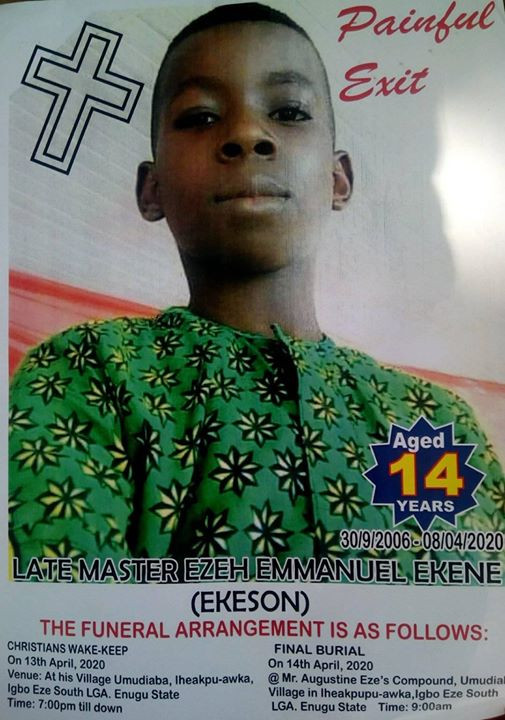 14-year-old boy electrocuted in Abuja