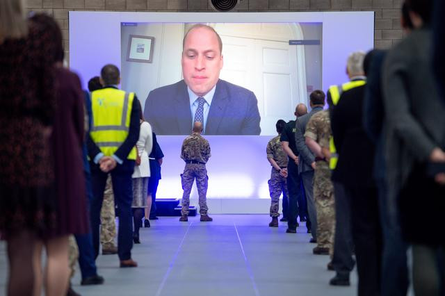 Prince William opens new 500-bed emergency COVID-19 hospital built in just 8 days (photos)