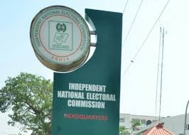 INEC headquarters on fire
