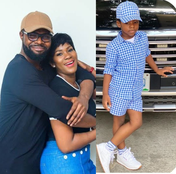 Stephanie Okereke Linus shows off her adorable son on her 8th wedding anniversary