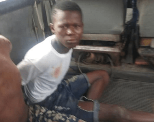Three men arrested after breaking into shops and looting at the Alaba International market (photos)