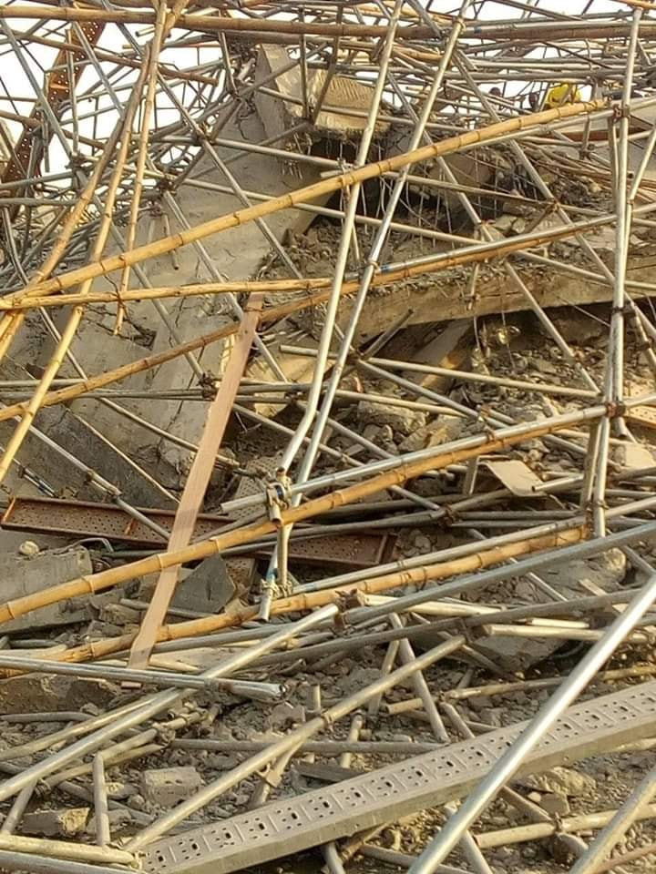 8-storey building under construction collapses in Imo (photos)