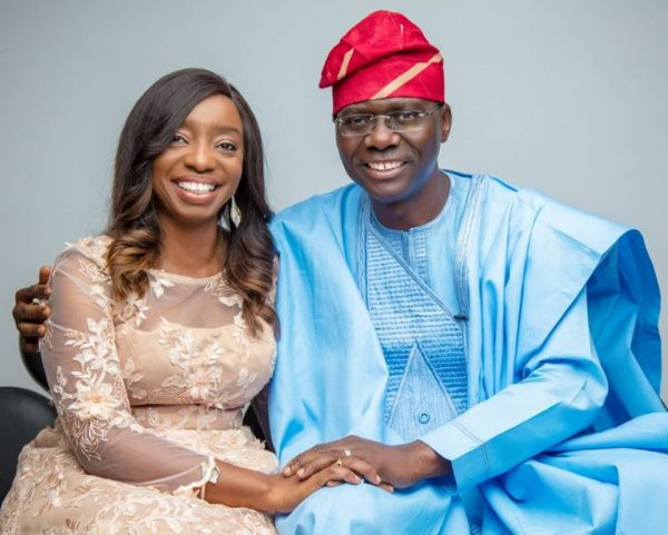 Governor Sanwo-Olu and wife test negative for Coronavirus for the third time as 10 persons associated with Lagos State House, Marina test positive