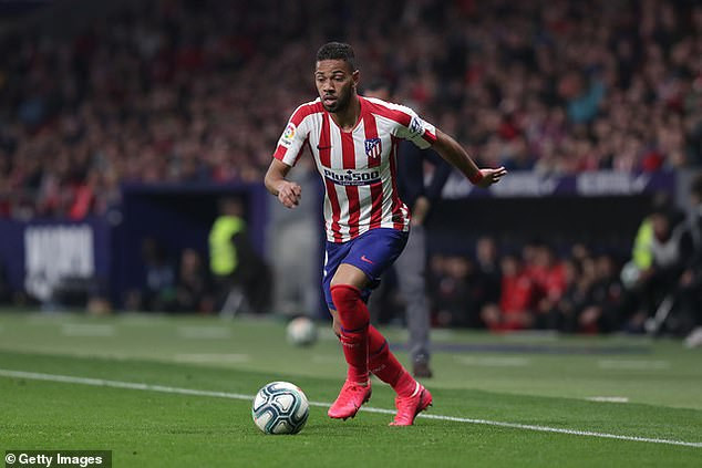 Atletico Madrid defender, Renan Lodi reportedly tests positive for Coronavirus