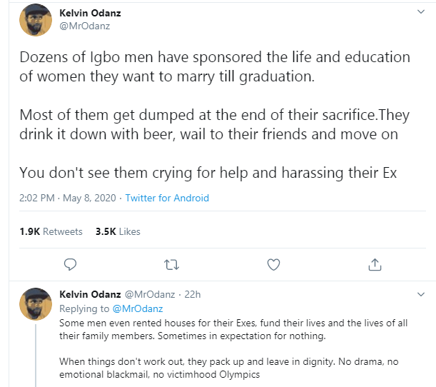"Nigerian man reveals ""why men don"