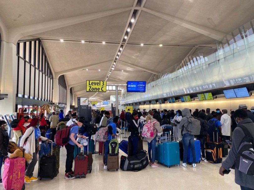 160 Nigerians evacuated from the US due to Coronavirus pandemic arrive Abuja (photos)