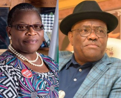 Power in the hands of persons without self-discipline creates monsters in any society- Oby Ezekwesili reacts to demolition of hotels by Gov Wike