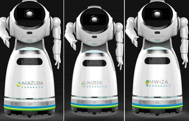 Rwanda takes delivery of robots that can screen ?150 people per minute? for Coronavirus lindaikejisblog 1
