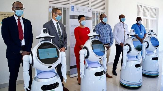 Rwanda takes delivery of robots that can screen ?150 people per minute? for Coronavirus lindaikejisblog 2