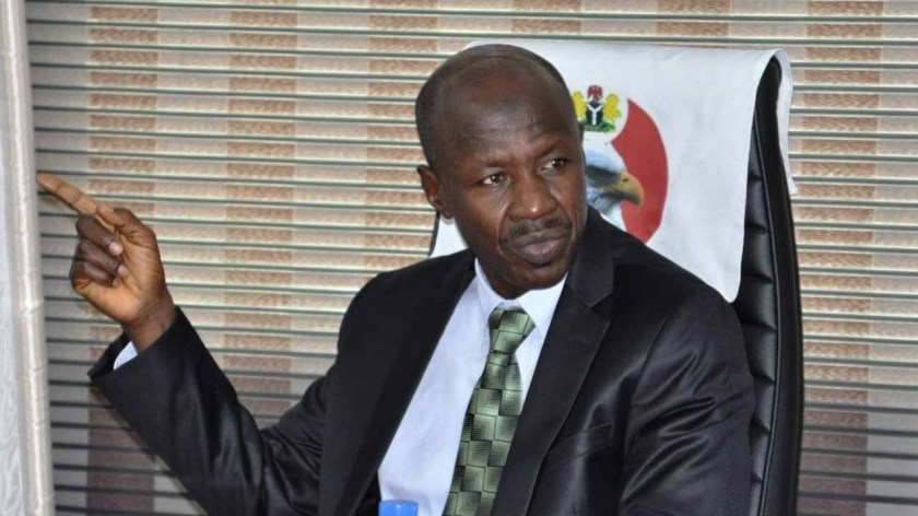 We are investigating platforms used to promote derogatory campaigns against Magu - EFCC