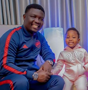 Between Seyi Law and an IG user who queried him for opening an Instagram page for his three year old daughter